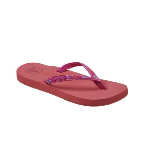REEF WOMENS FLIP FLOPS.GINGER PINK ARCH SUPPORT SANDALS BEACH THONGS 9S 60 TUN